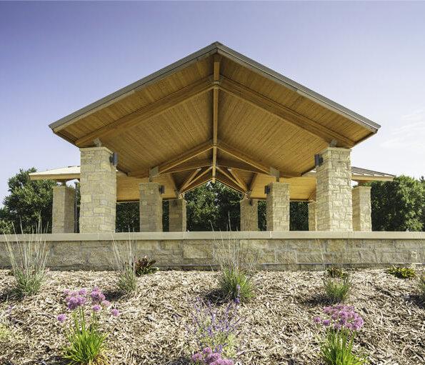 terra lake park open air civic shelter