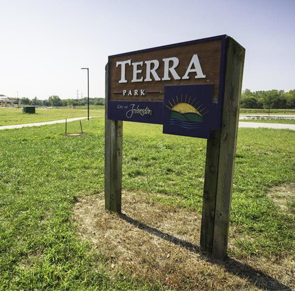 terra lake park entrance sign