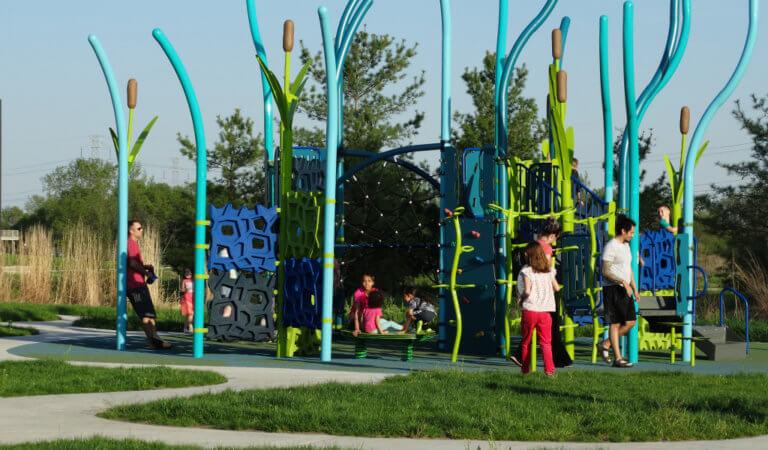 terra lake playground pads