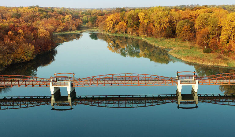 easter lake bridge
