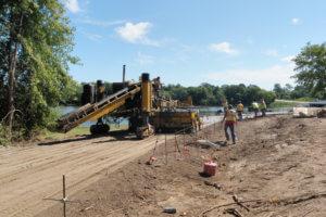 East Lake Pavement Construction