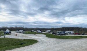 Campground in Northern Iowa