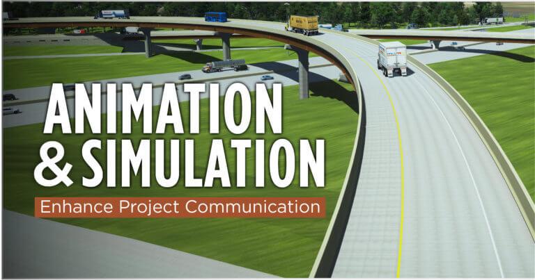 animation simulation of bridge crossover