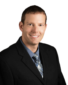 Snyder professional surveyor, Eric Miller, headshot