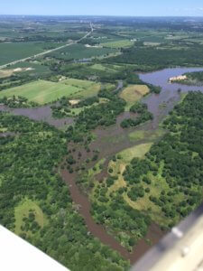 aerial view of black hawk mitigation bank