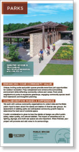 Screenshot thumbnail of park master planning brochure.
