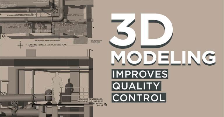 3D model of vault utilities