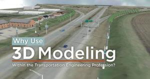3D model of ames corridor.
