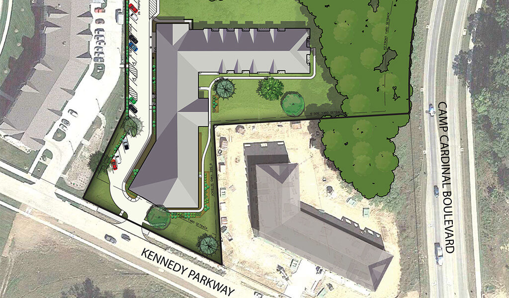 digital rendering of commons crossing design