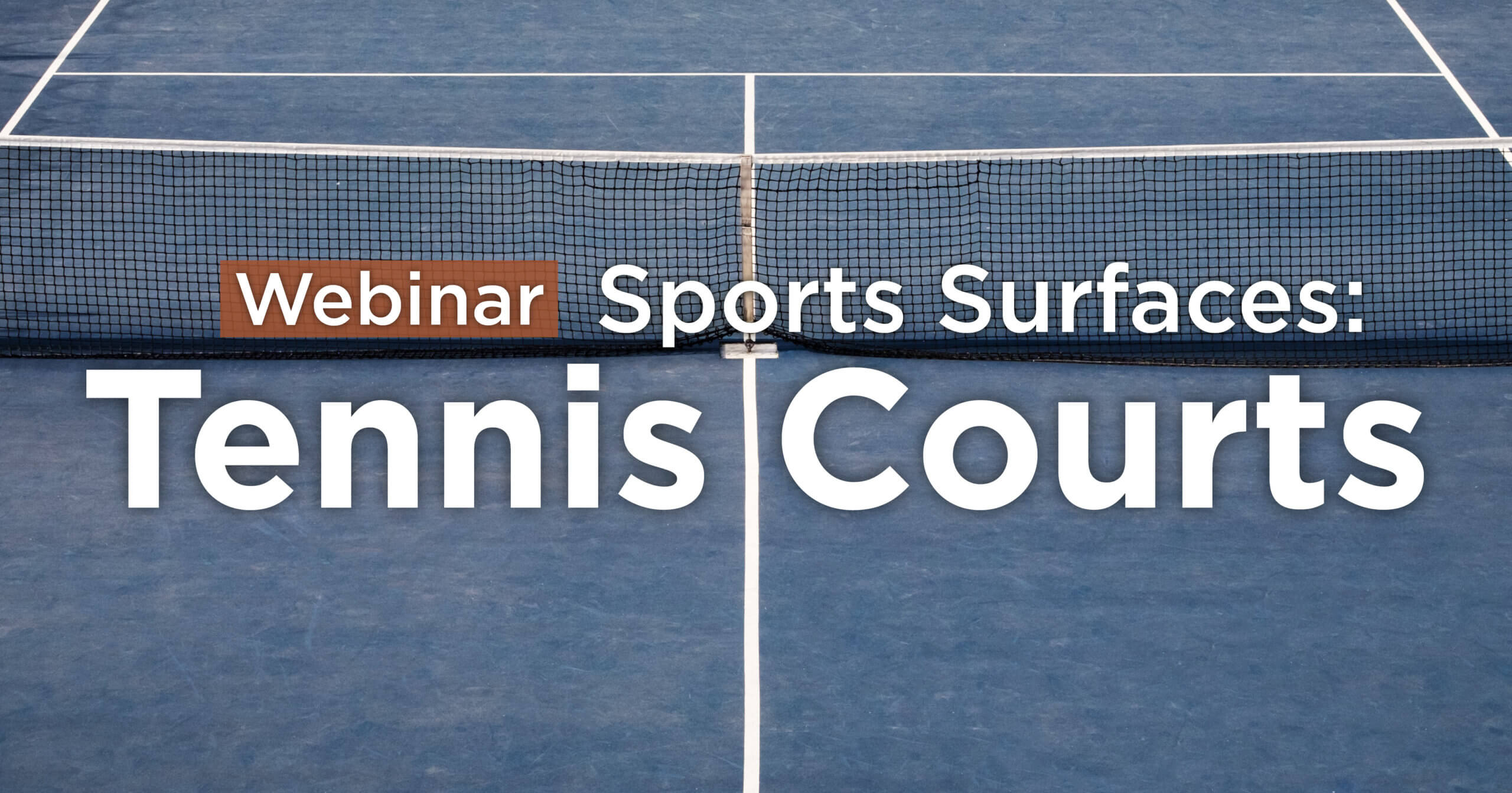 Specialty Sports Surfaces Tennis Court Design Construction Webinar Snyder Associates Engineers And Planners
