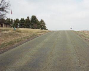 uphill road