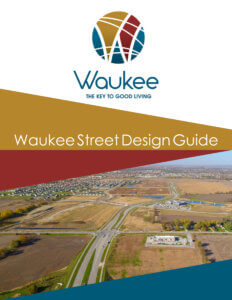 waukee street design poster