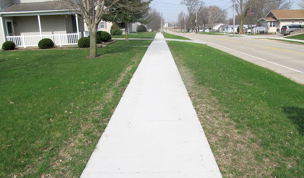 ADA complaint new sidewalk