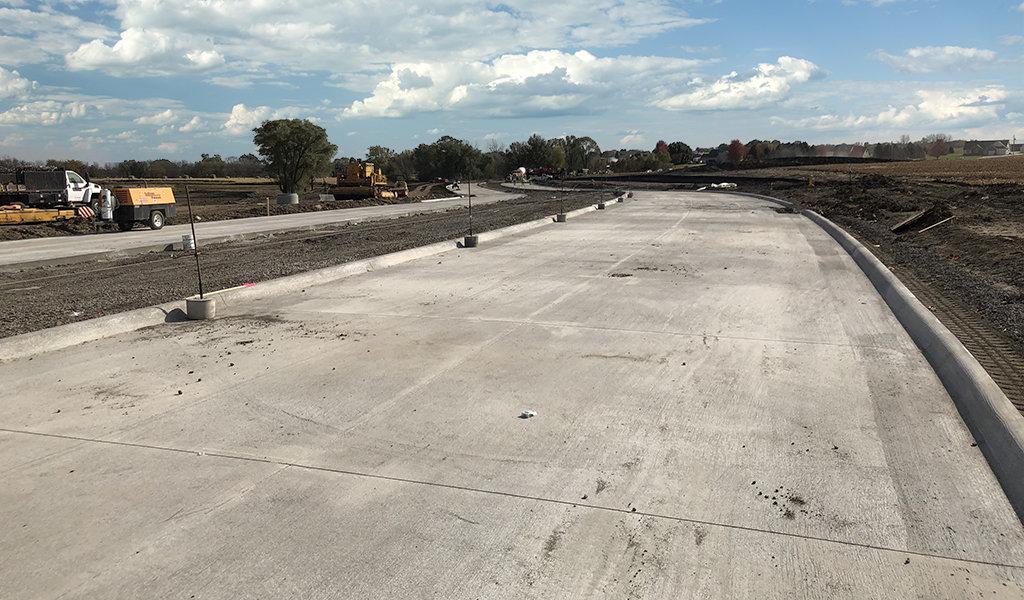 An expansive new roadway