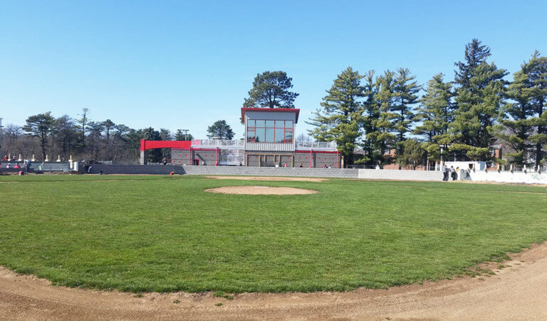 cap tim baseball field