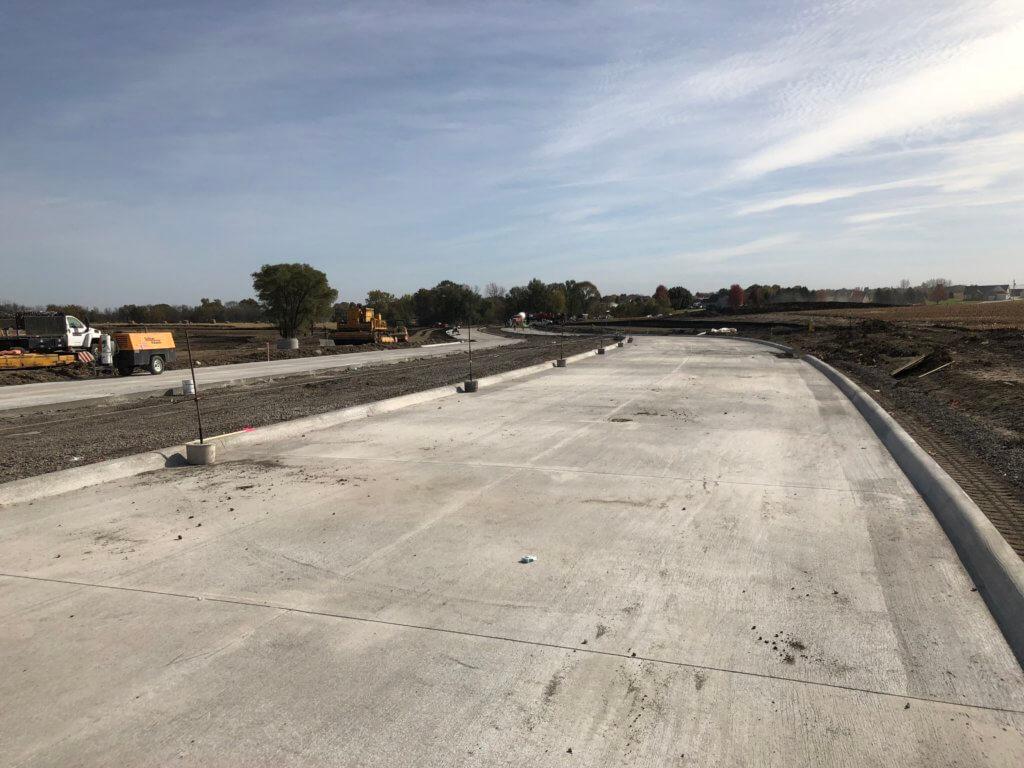 NE 70th St reconstruction in Pleasant Hill, Iowa