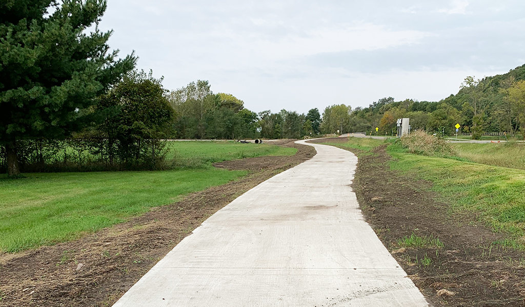 Phase 2 of Youngstown trail connects park to Gay Lea Wilson trail