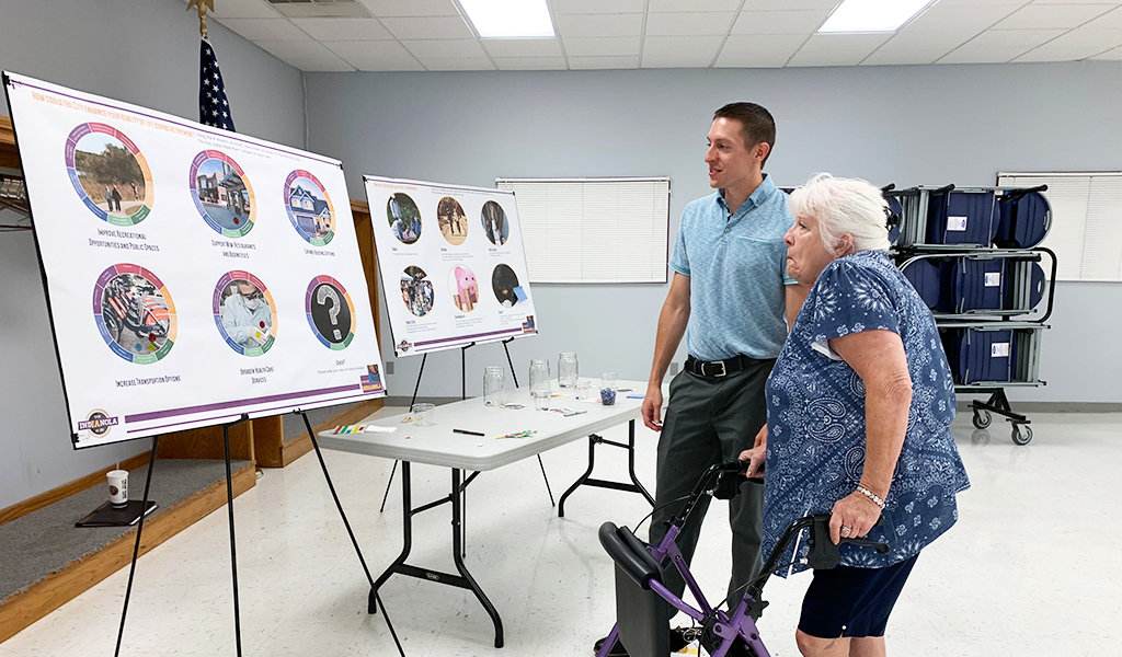 snyder & associates planner answers questions about indianola comprehensive plan to citizen