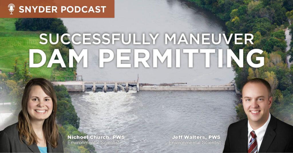 Dam Permitting Webinar Graphic