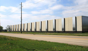 concrete and glass design for iowa public works facility