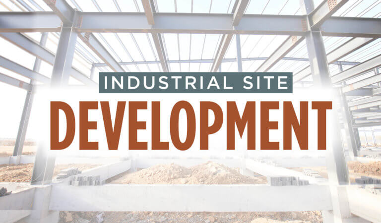 Industrial Site Development graphic