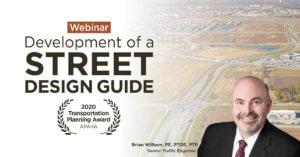 development of a street design guide waukee iowa webinar