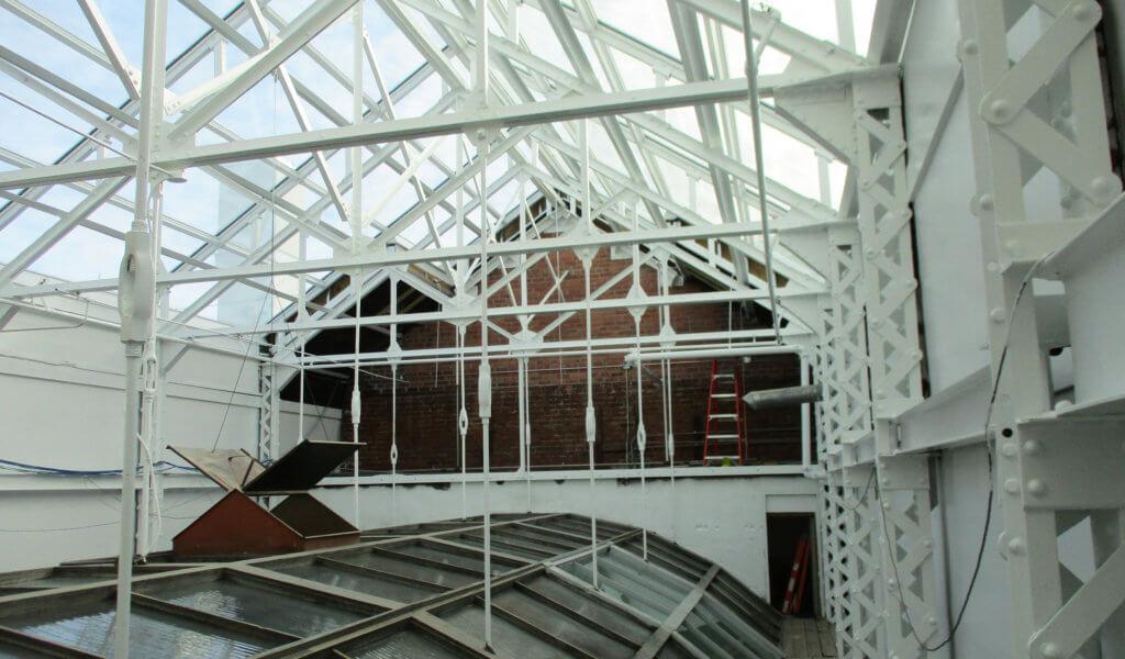 Newly constructed skylight