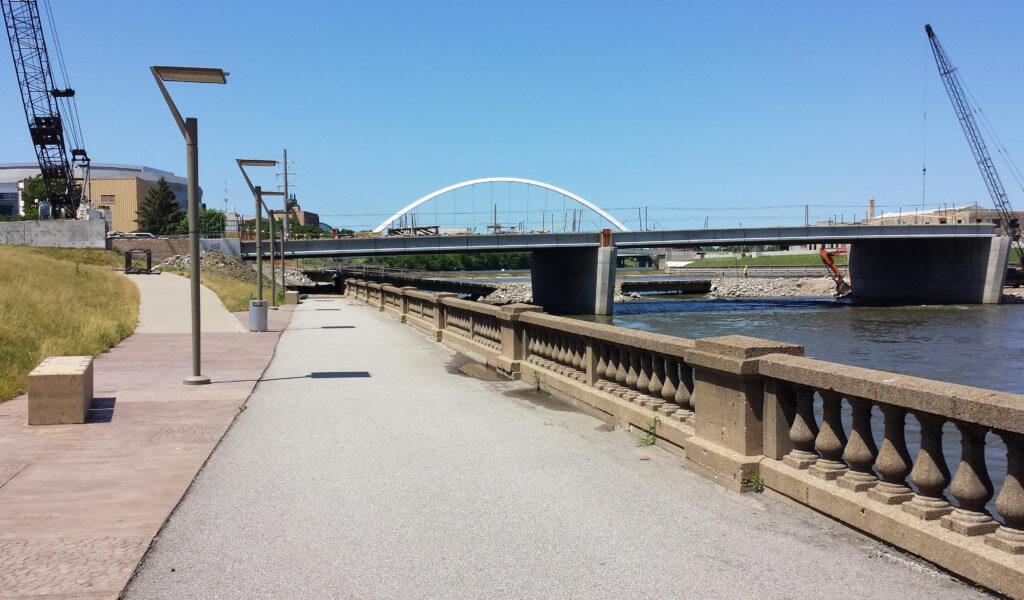 Bridge during construction