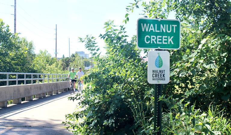 walnut creek sign
